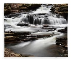 Seneca Falls Fleece Blanket