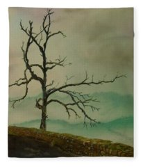 Sentinel Of The Shenandoah  Fleece Blanket
