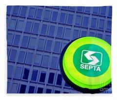 Septa Sign Fleece Blanket