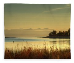 September Morn Fleece Blanket