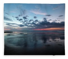September Sunrise Fleece Blanket