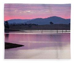 Serene Fleece Blanket