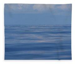 Serene Pacific Fleece Blanket