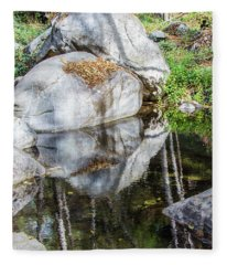 Serene Reflections Fleece Blanket