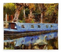 Serene Scene Fleece Blanket