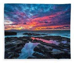 Oregon State Parks Fleece Blankets