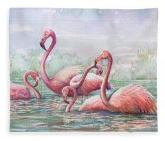 Serenity 8 Fleece Blanket