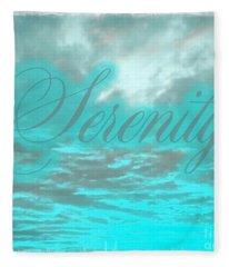Serenity Fleece Blanket