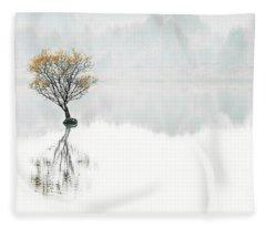 Serenity Song Fleece Blanket