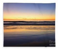 Serenity Sunset Fleece Blanket