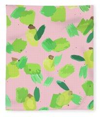 Series Pink 007 Fleece Blanket
