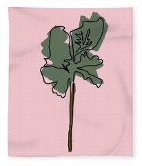 Series Pink 12 Fleece Blanket