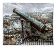 Sevastopol Cannon 1855 Fleece Blanket