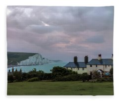 Seven Sisters Dawn  - England Fleece Blanket