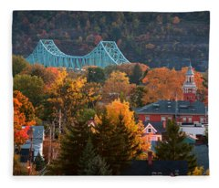 Sewickley 6 Fleece Blanket