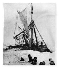 Shackletons Endurance Fleece Blanket