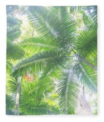 Shade Of Eden  Fleece Blanket