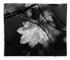 Shades Of Grey Fleece Blanket