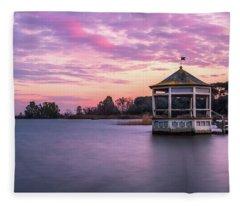 Shades Of Pink Light Fleece Blanket