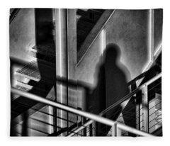 Shadow Man Fleece Blanket