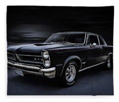 Shadow Rider Fleece Blanket