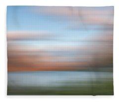 Shadowing Goose Island  Iv Fleece Blanket