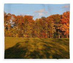 Shadows Bow Fleece Blanket