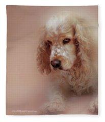 Saint Shaggy Art 6 Fleece Blanket