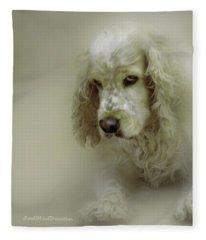 Saint Shaggy Art 7 Fleece Blanket
