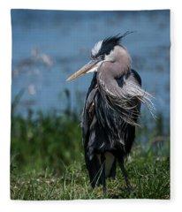 Shaggy Mane Fleece Blanket