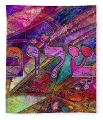 Shalom Fleece Blanket
