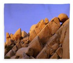 Shapes Fleece Blanket