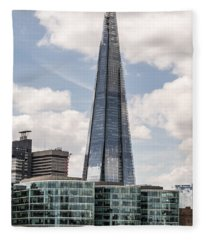 Shard Building In London Fleece Blanket
