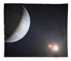 Sharing Two Suns Fleece Blanket