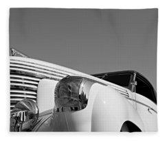 Shark Nose Graham Fleece Blanket