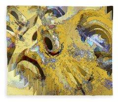 Shattered Illusions Fleece Blanket