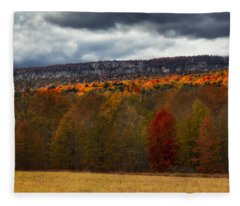 Shawangunk Mountains Hudson Valley Ny Fleece Blanket
