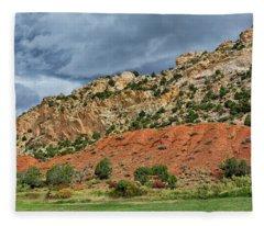 Sheep Creek After The Rain Fleece Blanket