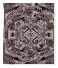 Sheep's Head Vortex Kaleidoscope Fleece Blanket