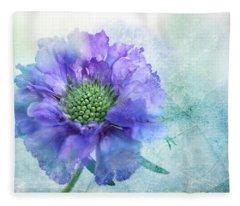 Sheer Lilac Fleece Blanket