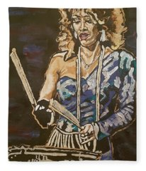 Sheila E Fleece Blanket