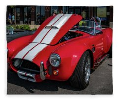 Shelby Ac Cobra Fleece Blanket