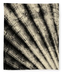 Shell Abstract Fleece Blanket