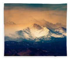 She'll Be Coming Around The Mountain Fleece Blanket