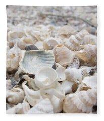 Shells 2 Fleece Blanket