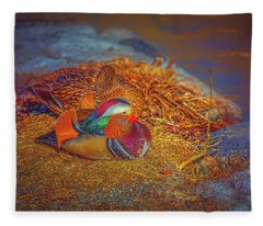 Sheltered #h4 Fleece Blanket