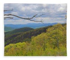 Shenandoah National Park Fleece Blanket