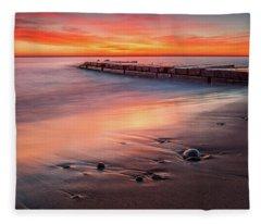 Sheridan Sunrise Fleece Blanket