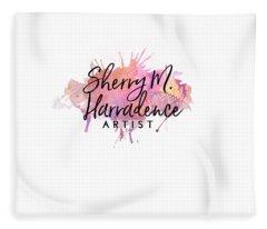 Sherry Harradence Artist Fleece Blanket