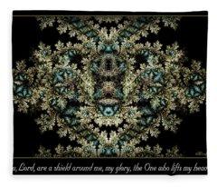 Shield Around Me Fleece Blanket